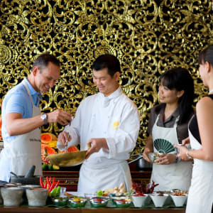 Mandarin Oriental à Bangkok: cooking school