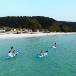 The Royal Sands Koh Rong in Sihanoukville & Inseln:  Kayaking