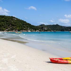 Panviman Resort in Ko Phangan: Kayaking