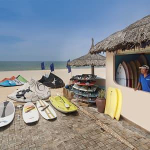 Sailing Club Resort Mui Ne in Phan Thiet:  Kite Lesson