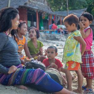 Wa Ale in Mergui Archipel: Lampi village visit