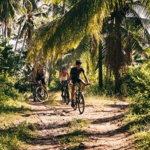 Atmosphere Resort in Negros: Mountain biking
