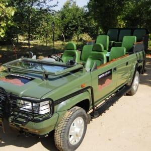Pench Jungle Camp: New Jeep Safari Vehicle