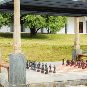 Aliya Resort & Spa in Sigiriya: Outdoor Chess