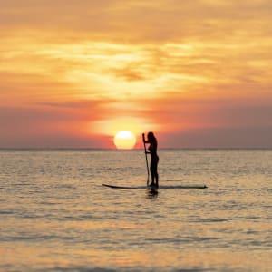 Anantara Rasananda Koh Phangan Villas in Ko Phangan: Paddle board