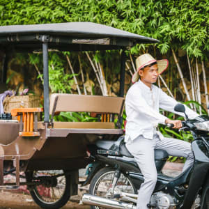 Anantara Angkor Resort in Siem Reap: Private TukTuk