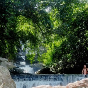 Living Heritage Koslanda à Ella/Haputale/Koslanda: Private waterfall experience sri lanka