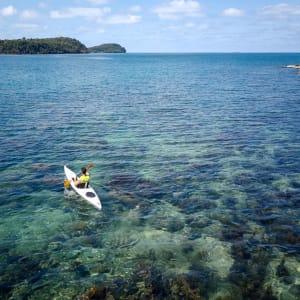 Six Senses Krabey Island à Sihanoukville & Îles: Surf ski