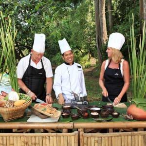 The Sarojin à Khao Lak: thai cooking class riverbank