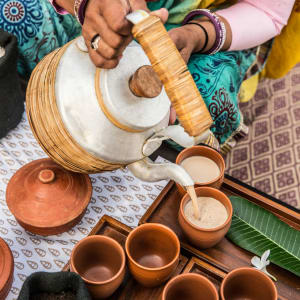 Aman Geniesser-Reise ab Jaipur: Afternoon Tea