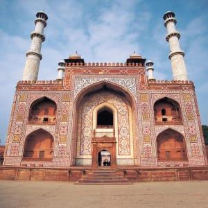 Goldenes Dreieck ab Delhi: Agra: Entrance to Taj Mahal