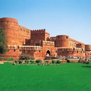 Reise zum heiligen Ganges ab Delhi: Agra Fort