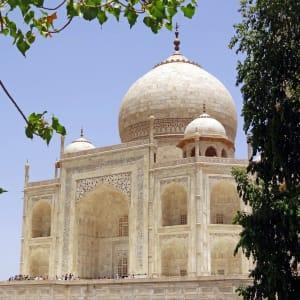 Reise zum heiligen Ganges ab Delhi: Agra Taj Mahal