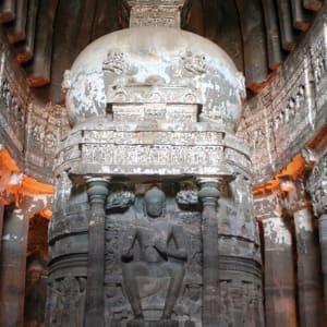 «The Deccan Odyssey» - La splendeur du Maharashtra de Mumbai: Ajanta: Stupa