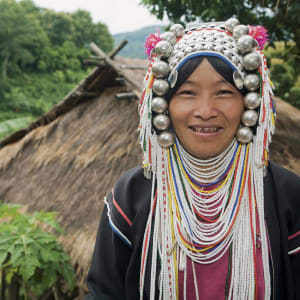 Les hauts lieux de la Thaïlande de Bangkok: Akha Woman