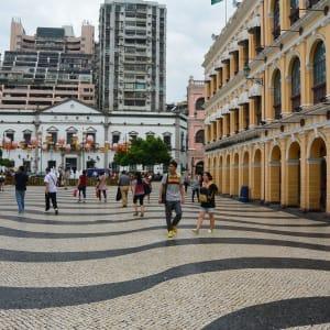 Stadtrundfahrt in Macau: Alstadt Macau Senado Square