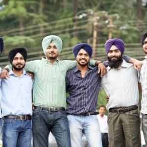Himachal Pradesh & Ladakh de Delhi: Amritsar: Group of Sikhs