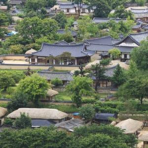 Grand circuit en voiture de location en Corée du sud de Séoul: Andong Hahoe Village