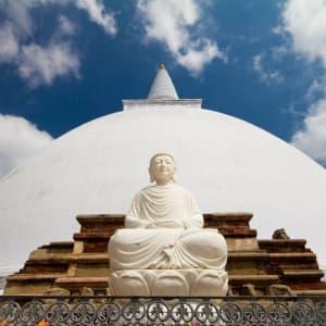 Sri Lanka für Geniesser ab Colombo: Anuradhapura: Mirisavatiya Dagoba