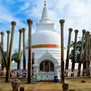 Sri Lanka für Geniesser ab Colombo: Anuradhapura Thuparamaya dagoba