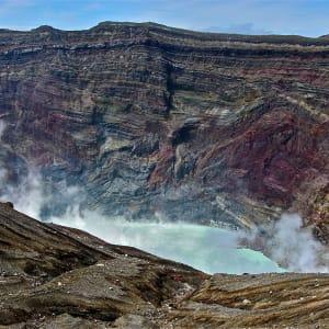 Gruppenreise «Im Reich der Sonnengöttin» ab Kyoto: Aso National Park: Crater