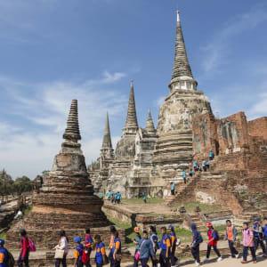 Streifzug durch Bangkoks Umgebung: Ayutthaya