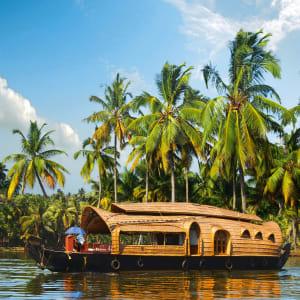 Backwaters von Kerala ab Kochi: Backwaters: Houseboat