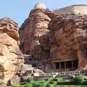 Karnatakas kulturelles Vermächtnis ab Goa: Badami: Cave Temple