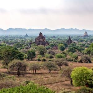 Tour à vélo à travers le pays doré de Yangon: Bagan