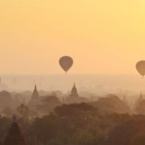 Tour en montgolfière au-dessus de Bagan: Bagan Ballon