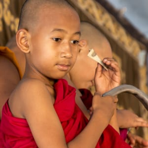 Le Myanmar authentique de Yangon: Bagan Young Monk