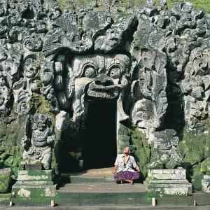 Bali compacte de Sud de Bali: Bali Elephant Cave Goa Gajah