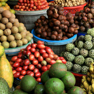 Ursprüngliches Bali inkl. Schmetterlingspark in Südbali: Bali fruit market