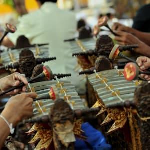 Höhepunkte Balis ab Südbali: Bali Gamelan Music Players