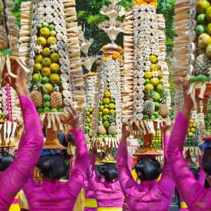Nature et traditions à l'est de Bali de Sud de Bali: Bali Hindu Ceremony