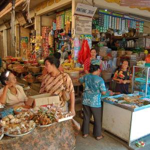 Bali compacte de Sud de Bali: Bali Market