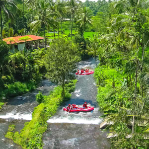 Bali riche en aventures de Sud de Bali: Bali - Rafting in the canyon