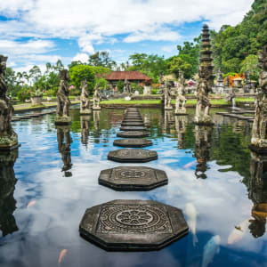 Les hauts lieux de Bali de Sud de Bali: Bali Tirta Gangga Water Temple