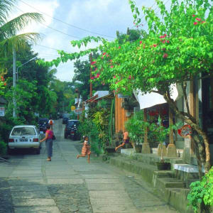 Découverte active de Bali de Sud de Bali: Bali Ubud local street