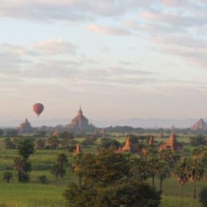 Tour en montgolfière au-dessus de Bagan: Balloons over Bagan 11
