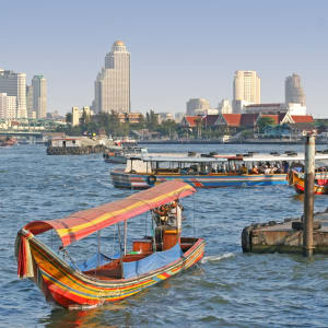 Bangkok à son gré / Journée entière ville et banlieue de Bangkok: Bangkok Chao Praya