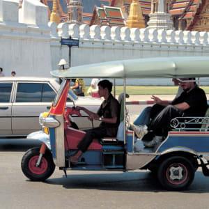 River of Kings - zu Fuss, Tuk Tuk und Boot in Bangkok: Bangkok: Tuk Tuk