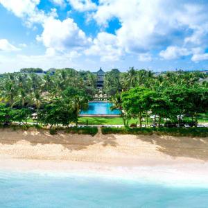 InterContinental Bali Resort à Sud de Bali: Aerial Beach