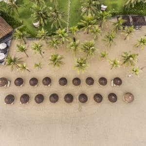 Boutique Hoi An Resort: Aerial View Beach