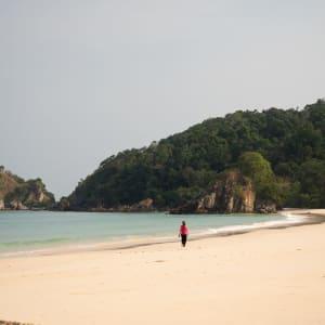 Awei Pila Resort à Mergui Archipel: Beach