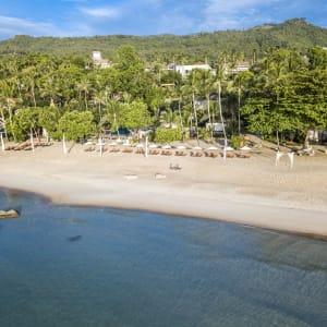 New Star Resort à Ko Samui: beach