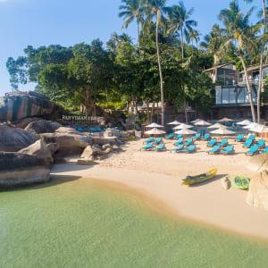 Panviman Resort in Ko Phangan: Beach