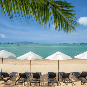 Peace Resort à Ko Samui: Beach 3