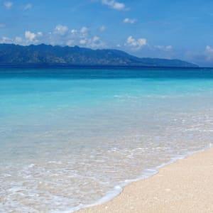 Vila Ombak in Gili: beach
