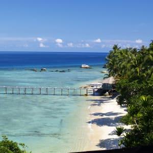 JapaMala Resort in Tioman:  Beach